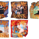 Kanye West x M/M (Paris) Silk Scarves