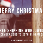 Christmas Special: Free Shipping Worldwide