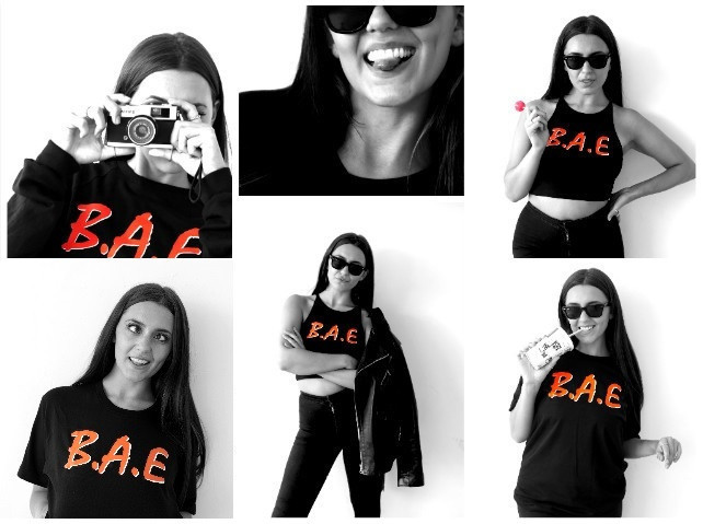 bae t-shirt x by x