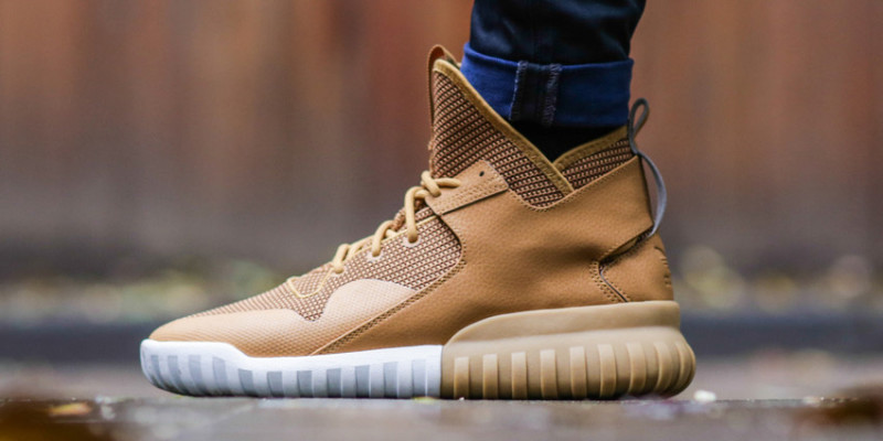 finest selection 4fd9a 5c031 Adidas Tubular X Wheat